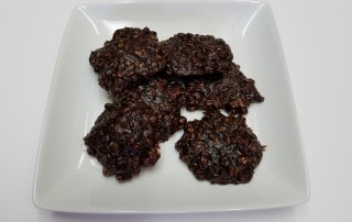 Luscious Chocolate Oatmeal Cookies (flour-free)